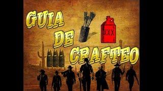 Red Dead Redemption 2 Online 📖 GUÍA DE CRAFTEO 📖 + TRUCO EXPERIENCIA INFINITA