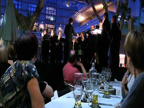 Sopar concert de l'Orfeó Manresà al Restaurant Passeig