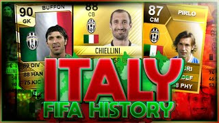 ITALY FIFA ULTIMATE TEAM HISTORY FT BUFFON PIRLO CHIELLINI ETC FIFA 10 20