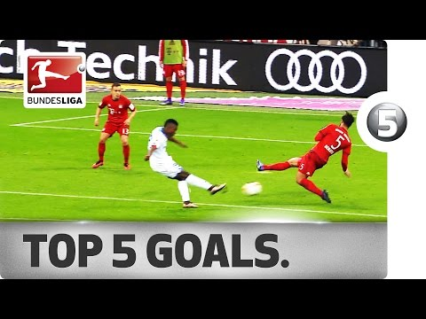 Top 5 Goals - Pizarro, Schürrle and More with Sensational Strikes