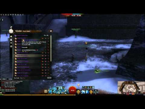 Guild Wars 2: Legendary Weapons Recipe Vendor