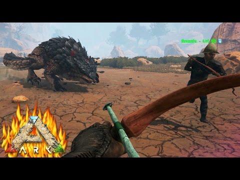 "ÉPIC! TAMEANDO AL GRAN THORNY DRAGON!! - INFERNALIA #2 - ARK: ""Scorched Earth"""