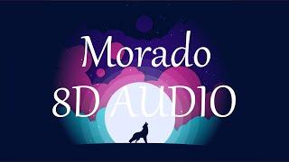 J Balvin - Morado (8D AUDIO) 360°