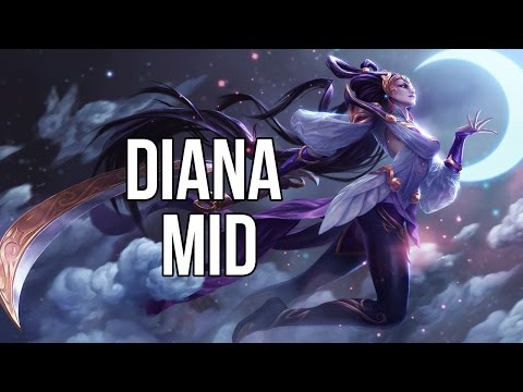 League of Legends - Lunar Goddess Diana Mid - Full Game Commentary
