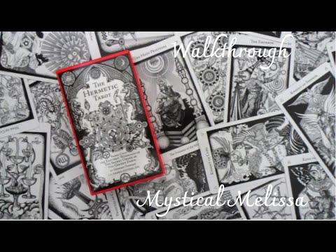 The Hermetic Tarot Unboxing \u0026 Walkthrough