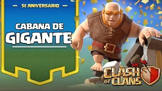 NOVO!!! CHEGOU A CABANA DE GIGANTES NO CLASH OF CLANS!!
