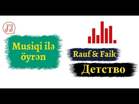 Rus dilini musiqi ilə öyrən I Jah Khalib - Leila I rus dili oyrenmek