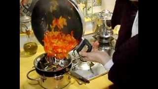 Mestolando On Il Ricettario. Crema Di Peperoni, Orange Bell Pepper Cream Sauce