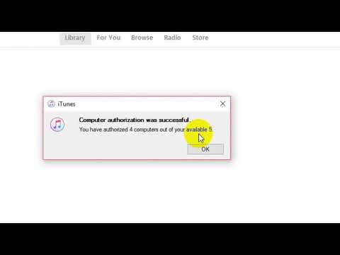 How to Authorize your Computer in iTunes
