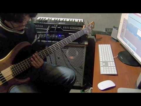 Circus - dirty loops (bass cover)