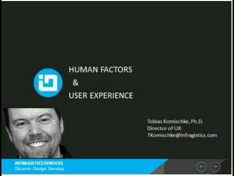 Human Factors & User Experience