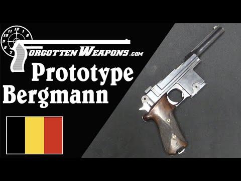 Ian Fangirls Over Some Weird Bergmann (Prototype M1910)