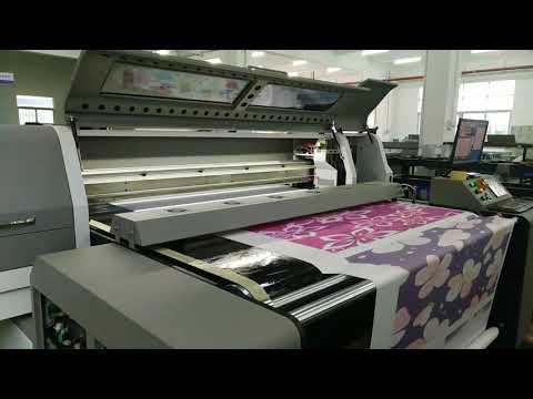 textile printing machine with starfire print head