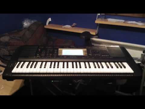 Yamaha PSR-730 Keyboard 20 XG Demo Songs From The Factory Floppy Disk Part 1/2