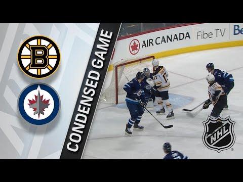 03/27/18 Condensed Game: Bruins @ Jets