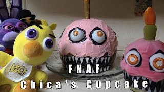 "FNAF plush Episode 52 - Chica's Cupcake ""Nightmare Cupcake"""