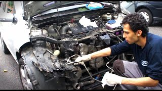 How to fix your car after you crashed at Home