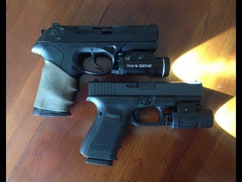 Glock 19 Gen 4 vs Beretta PX4 Storm 9mm