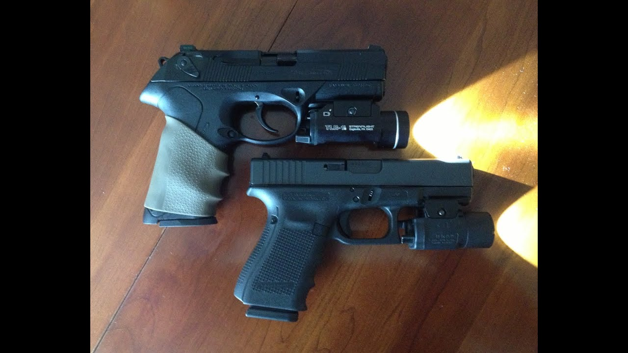 Glock 19 Gen 4 vs Beretta PX4 Storm 9mm - YouTube