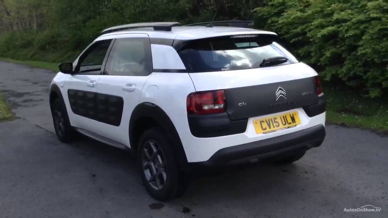 citroen c4 cactus puretech feel white 2015 youtube. Black Bedroom Furniture Sets. Home Design Ideas