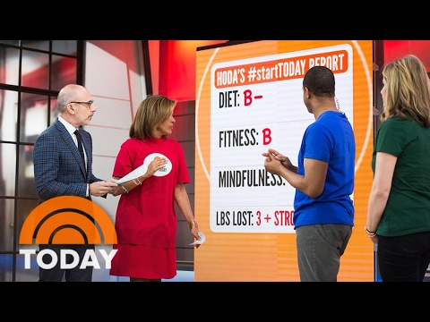 Hoda, Craig And Jenna Grade Their Health Report Cards  startTODAY  TODAY