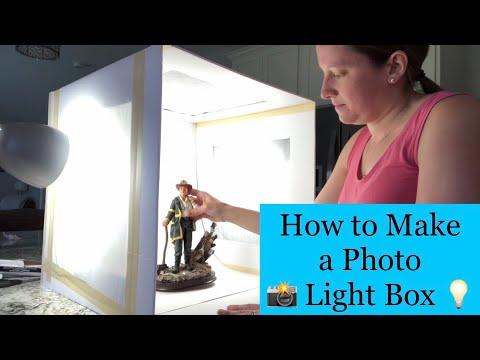 How to Make a Light Box for Photos DIY For $15