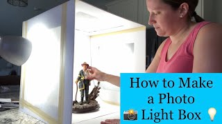 How to Make a Light Box for Photos DIY For $15