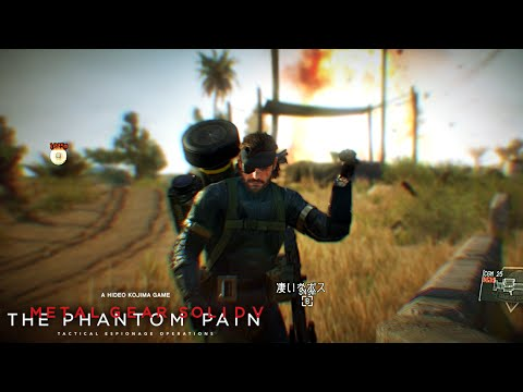 【MGSV TPP】 EP 41 終わりなき代理戦争 バグ攻略 笑!! PROXY WAR WITHOUT END Glitch lol!!