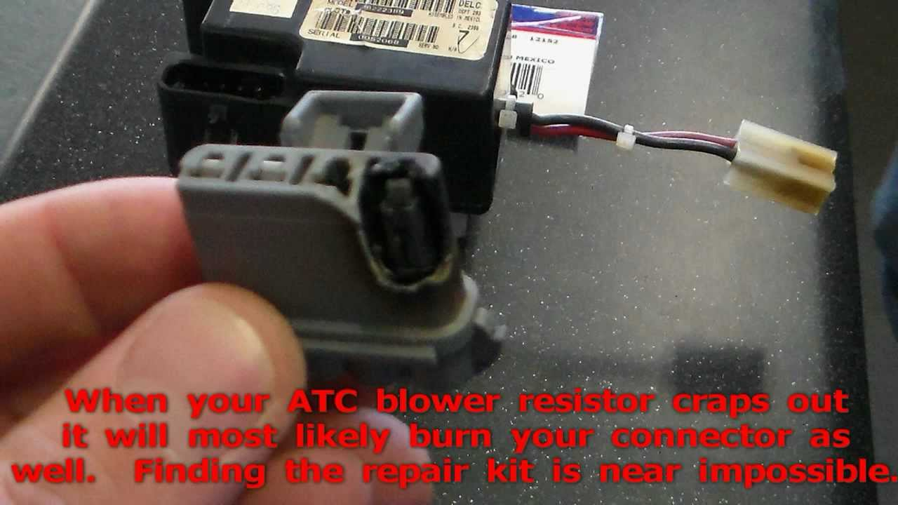 1998 atc jeep grand cherokee blower resistor connector repair kit rare 1 2 year youtube [ 1280 x 720 Pixel ]