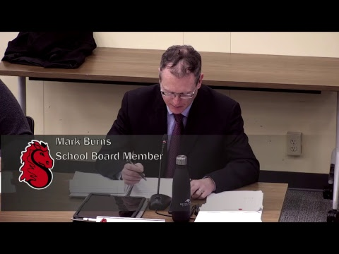 School Board Meeting - February 21, 2019