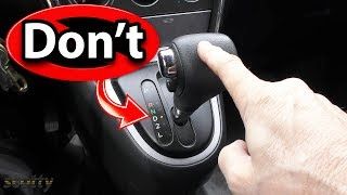 5 Things You Should Never Do in an Automatic Transmission Car thumbnail
