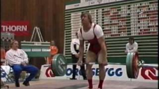 WC Powerlifting 1987 part 4