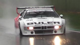 Historic Cars racing on Wet at Imola Classic - Group C Prototypes, F2, GT & Touring cars!