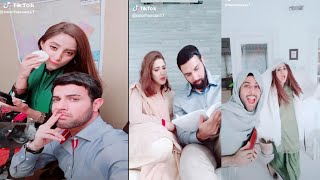 Pakistani Actor Noor Hassan And Sanam Chaudhry on Tik Tok | Tik Tok Video's
