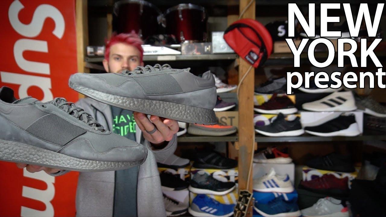 Adidas New York Present Daniel Arsham BOOST review + day off