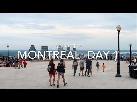 Montreal Day 1: Old Port Of Montreal, Mount Royal, La Banquise