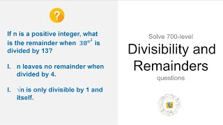 The remainder equation: Learn how to solve every remainder question