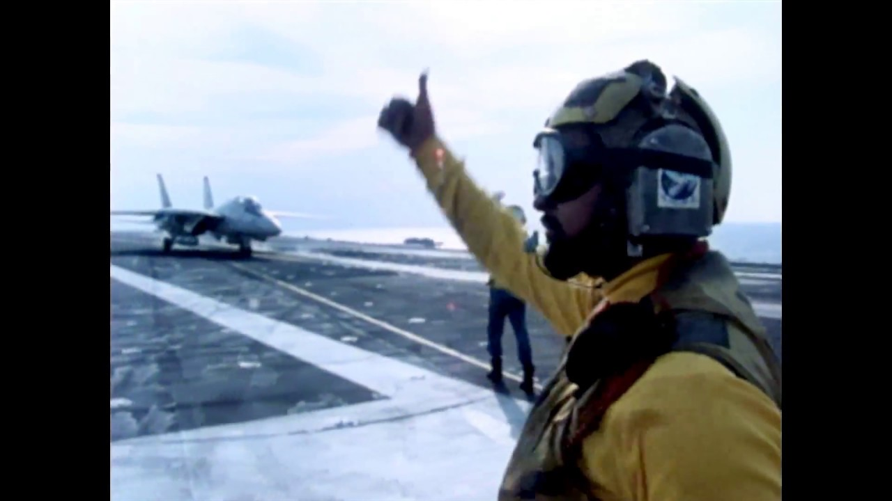Watching An Aircraft Carrier Flight Deck Is Like A Ballet