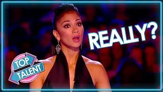 Download Are These Acts FOR REAL? Auditions That Went Wrong   Top Talent Mp3 and Videos