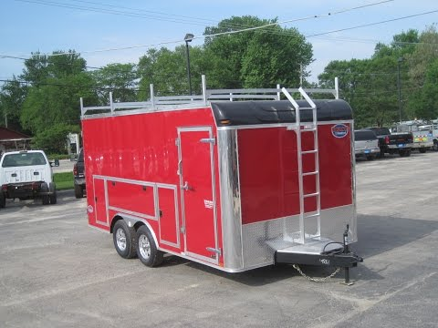 United UXT Tool Crib enclosed trailer
