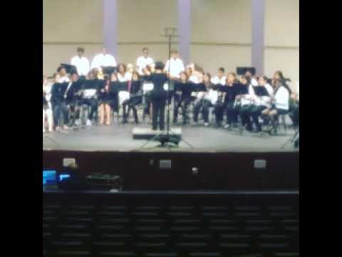 Kennedy curry Middle School band