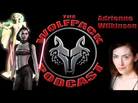 The WolfPack Podcast #23: Adrienne Wilkinson Interview (Voice Of Marris Brood On TFU)
