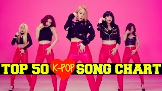 [TOP 50] K-POP SONGS CHART - JANUARY 2016 [WEEK 2]