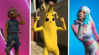 TOP 100 FORTNITE THICC SKINS IN REAL LIFE!!