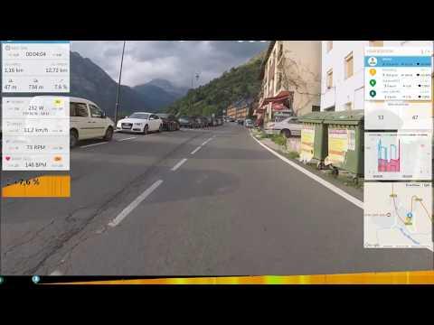 Rouvy, тренировки, онлайн гонки с видео  -