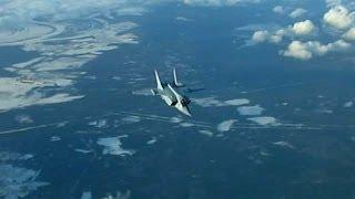 Учения Новейших Истребителей-Перехватчиков МиГ-31 БМ. 2014