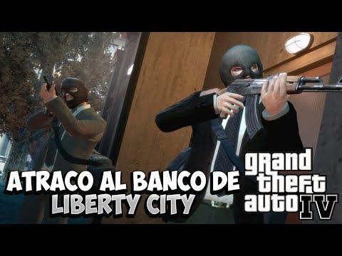 GTA IV MOD - Atraco Al Banco De Liberty City y La Traicion  !