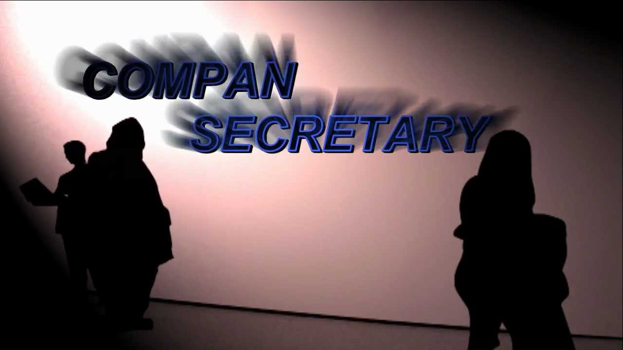 Company Secretary Part1 - YouTube
