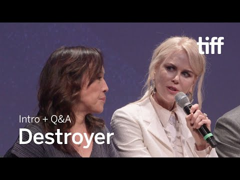 DESTROYER Cast and Crew Q&A  TIFF 2018