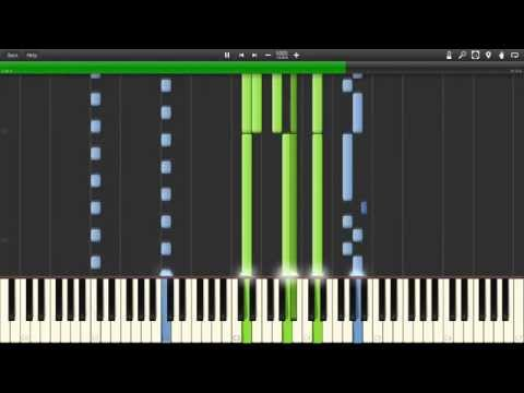 Snow Patrol - What If This Storm Ends Piano (Synthesia)